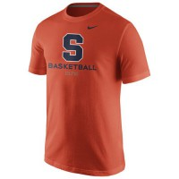 Syracuse Orange Nike University Basketball T-Shirt Orange