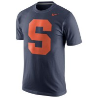 Syracuse Orange Nike Warp Speed T-Shirt Navy Blue