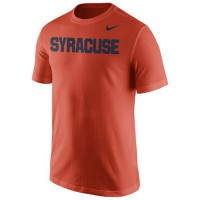Syracuse Orange Nike Wordmark T-Shirt Orange