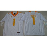 Tennessee Volunteers #1 Jalen Hurd White Limited Stitched NCAA Jersey