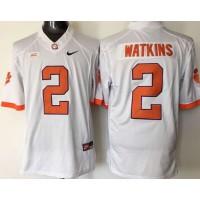 Tigers #2 Sammy Watkins White Limited Stitched NCAA Jersey
