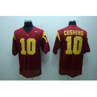 Trojans #10 Brian Cushing Red Stitched NCAA Jersey