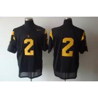 Trojans #2 Taylor Mays Black Stitched NCAA Jersey