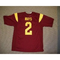 Trojans #2 Taylor Mays Red Stitched NCAA Jersey