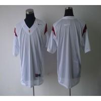 Trojans Blank White Stitched NCAA Jersey