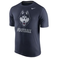 UConn Huskies Nike 2015 Sideline Dri-FIT Legend Logo T-Shirt Navy