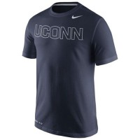 UConn Huskies Nike Performance Travel T-Shirt Navy