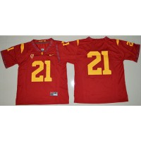 USC Trojans #21 Adoree' Jackson Red Limited Stitched NCAA Jersey