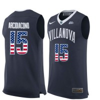Villanova Wildcats #15 Ryan Arcidiacono Navy College Basketball Jersey