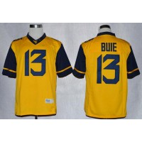 Virginia Mountaineers #13 Andrew Buie Gold Limited Stitched NCAA Jersey