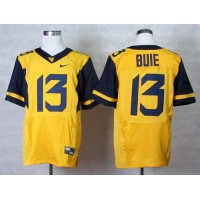 Virginia Mountaineers #13 Andrew Buie Gold Stitched NCAA Jersey
