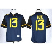 Virginia Mountaineers #13 Andrew Buie Navy Blue Limited Stitched NCAA Jersey