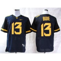 Virginia Mountaineers #13 Andrew Buie Navy Blue Stitched NCAA Jersey