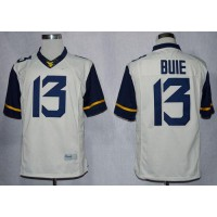 Virginia Mountaineers #13 Andrew Buie White Limited Stitched NCAA Jersey