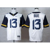 Virginia Mountaineers #13 Andrew Buie White Stitched NCAA Jersey