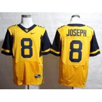 Virginia Mountaineers #8 Karl Joseph Gold Stitched NCAA Jersey