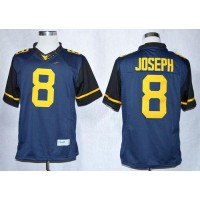 Virginia Mountaineers #8 Karl Joseph Navy Blue Limited Stitched NCAA Jersey