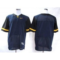 Virginia Mountaineers Blank Navy Blue Stitched NCAA Jersey
