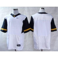 Virginia Mountaineers Blank White Stitched NCAA Jersey