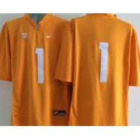 Vols #1 Jay Hurd Orange Stitched NCAA Jersey