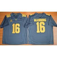 Vols #16 Peyton Manning Grey 2015 Stitched NCAA Jersey