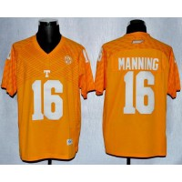 Vols #16 Peyton Manning Orange New Stitched NCAA Jersey