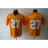 Vols #27 Arian Foster Orange Stitched NCAA Jersey