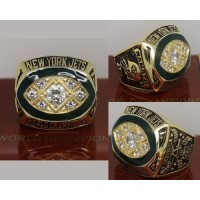 1968 NFL Super Bowl III New York Jets Championship Ring