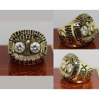 1975 NFL Super Bowl X Pittsburgh Steelers Championship Ring