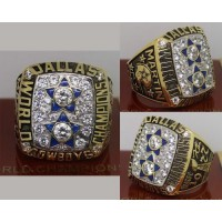 1977 NFL Super Bowl XII Dallas Cowboys Championship Ring