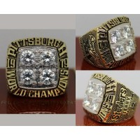 1979 NFL Super Bowl XIV Pittsburgh Steelers Championship Ring