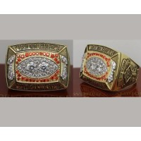 1987 NFL Super Bowl XXII Washington Redskins Championship Ring