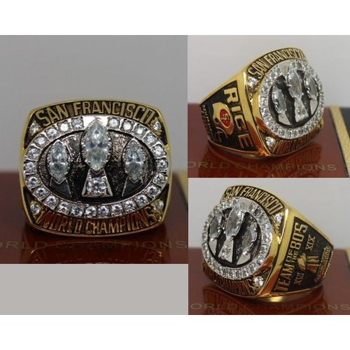 Wholesale 1988 NFL Super Bowl XXIII San Francisco 49ers Championship Ring  free shipping