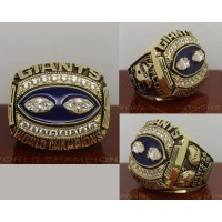 1990 NFL Super Bowl XXV New York Giants Championship Ring