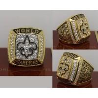 2009 NFL Super Bowl XLIV New Orleans Saints Championship Ring