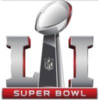 2017 NFL Super Bowl LI 51 Patch