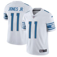 Nike Detroit Lions #11 Marvin Jones Jr White Men's Stitched NFL Limited Jersey