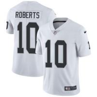 Nike Oakland Raiders #10 Seth Roberts White Men's Stitched NFL Vapor Untouchable Limited Jersey