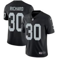 Nike Oakland Raiders #30 Jalen Richard Black Team Color Men's Stitched NFL Vapor Untouchable Limited Jersey