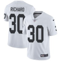 Nike Oakland Raiders #30 Jalen Richard White Men's Stitched NFL Vapor Untouchable Limited Jersey