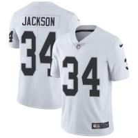 Nike Oakland Raiders #34 Bo Jackson White Men's Stitched NFL Vapor Untouchable Limited Jersey