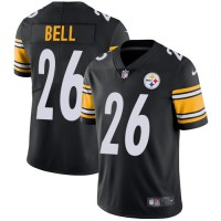 Nike Pittsburgh Steelers #26 Le'Veon Bell Black Team Color Men's Stitched NFL Vapor Untouchable Limited Jersey