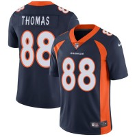 Nike Denver Broncos #88 Demaryius Thomas Navy Blue Alternate Men's Stitched NFL Vapor Untouchable Limited Jersey