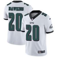 Nike Philadelphia Eagles #20 Brian Dawkins White Men's Stitched NFL Vapor Untouchable Limited Jersey