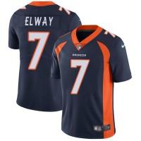 Youth Nike Denver Broncos #7 John Elway Blue Alternate Stitched NFL Vapor Untouchable Limited Jersey