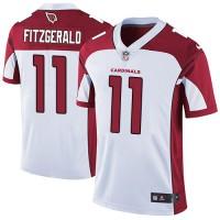 Nike Arizona Cardinals #11 Larry Fitzgerald White Men's Stitched NFL Vapor Untouchable Limited Jersey