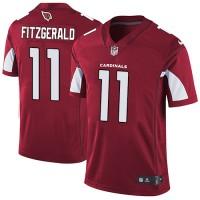 Nike Arizona Cardinals #11 Larry Fitzgerald Red Team Color Men's Stitched NFL Vapor Untouchable Limited Jersey