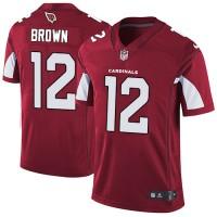 Nike Arizona Cardinals #12 John Brown Red Team Color Men's Stitched NFL Vapor Untouchable Limited Jersey