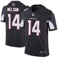 Nike Arizona Cardinals #14 J.J. Nelson Black Alternate Men's Stitched NFL Vapor Untouchable Limited Jersey
