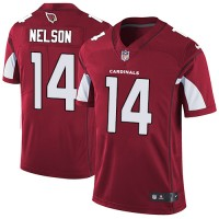 Nike Arizona Cardinals #14 J.J. Nelson Red Team Color Men's Stitched NFL Vapor Untouchable Limited Jersey